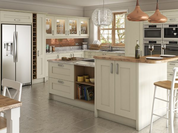 12 Shaker norton Kitchen in alabaster