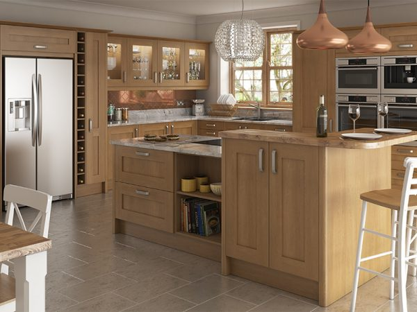 13 Shaker norton Kitchen in oak