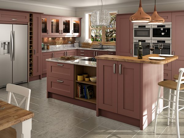 13a Shaker norton kitchen in damson