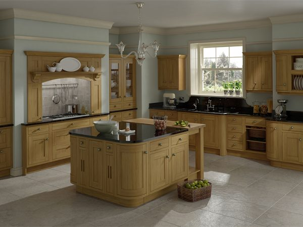 30 Harewood kitchen in Oak