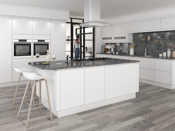 37 luca kitchen in matt white