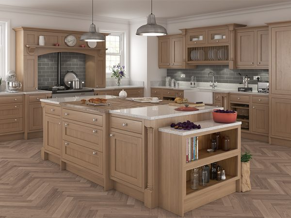 4a Inframe helmsley Kitchen in Oak