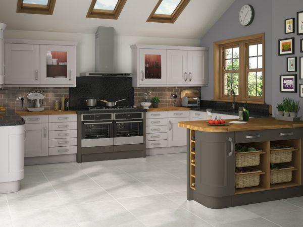 9 Shaker Malton bespoke Kitchen