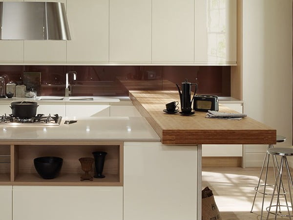 Handleless Bespoke Kitchens Worcestershire