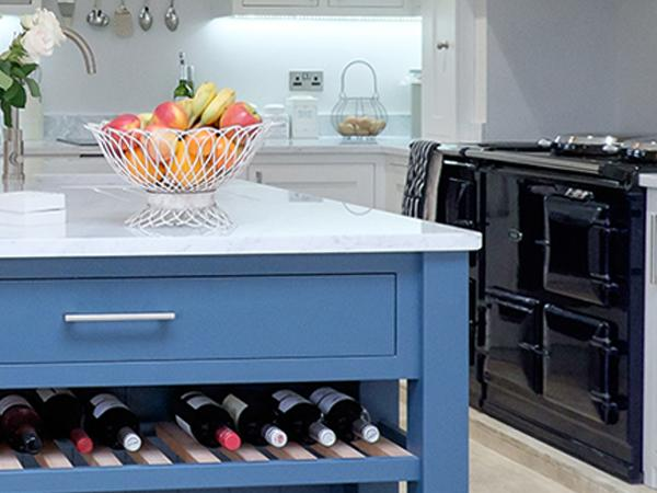 Painted Shaker Kitchens Worcestershire