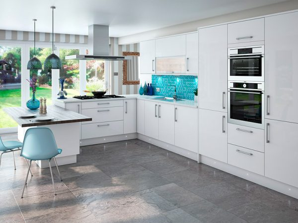 altino kitchen in white