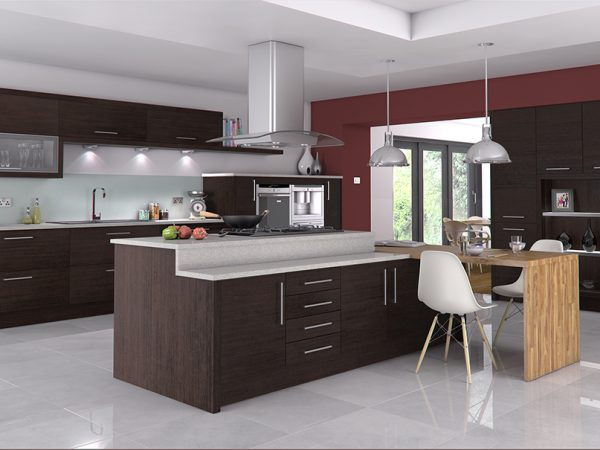 cento kitchen in wenge