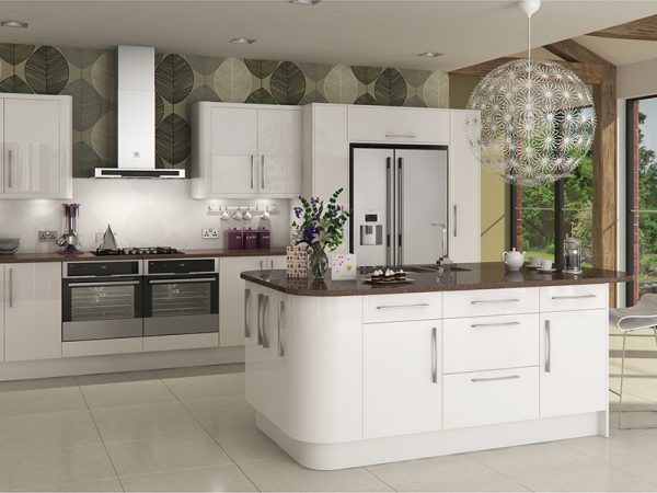 livorna kitchen in white